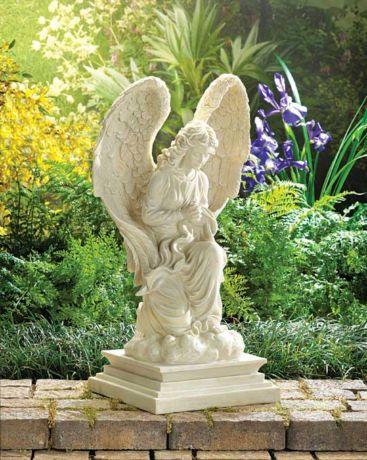 Фото - Фігурки ангелів - класичні скульптури для оформлення саду