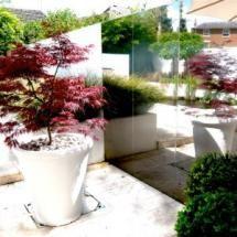 Фото - Чудовий прикраси для саду - дзеркала