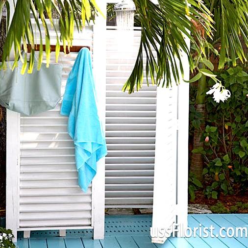 Фото - літній душ для дачі фото
