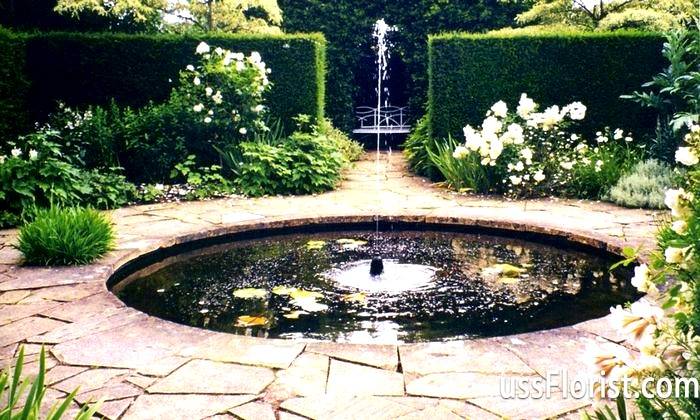 Фото - фонтани для дачі