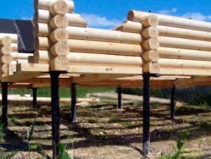 Фундамент на гвинтових палях - плюси і мінуси, особливості установки