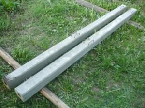 Виготовлення бетонних стовпів для паркану своїми руками