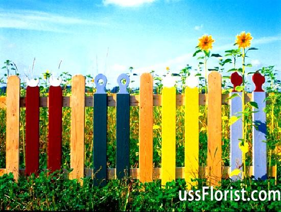 Фото - Декоративні паркани для дачі