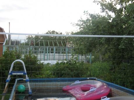 Фото - зона на дачі для спортивних занять