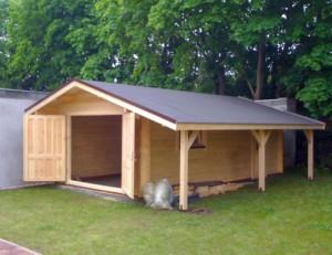 Як побудувати гараж з бруса своїми руками?