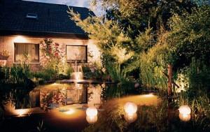 Як за допомогою архітектурного освітлення будинків на ділянці створити унікальний світловий дизайн садиби