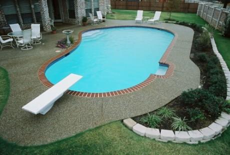 Фото - ПВХ плівка для обробки басейнів
