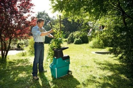 Фото - садовий подрібнювач для дачників
