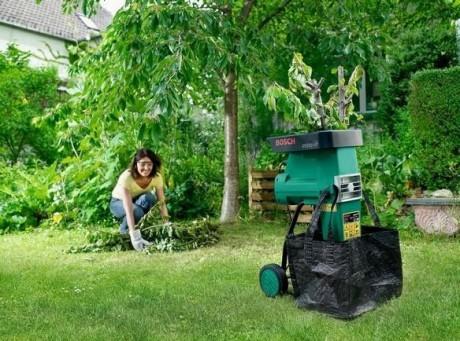 Фото - садовий подрібнювач марки BOSCH