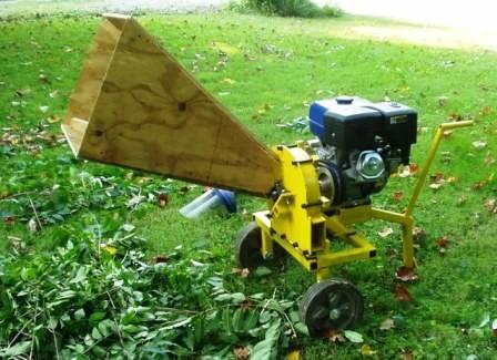 Фото - подрібнювач для саду зроблений своїми руками