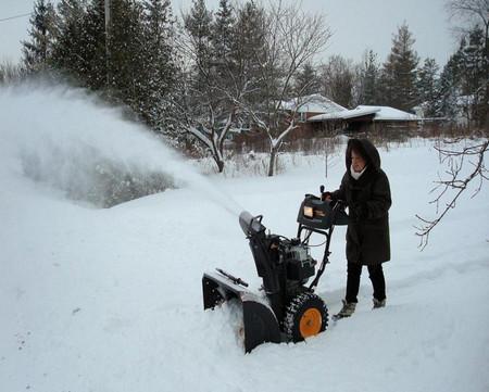 Фото - прибирання снігу