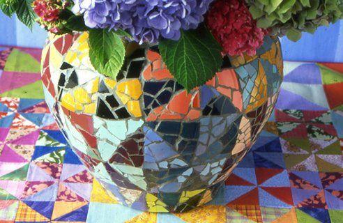 Фото - варіації мозаїчного ландшафтного дизайну
