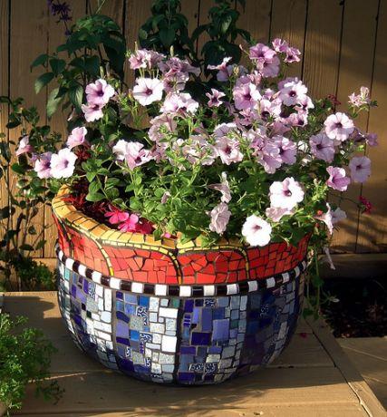 Фото - незвичайний дизайн садової вазона