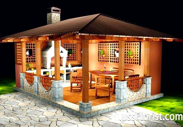 Фото - Літня кухня на дачі