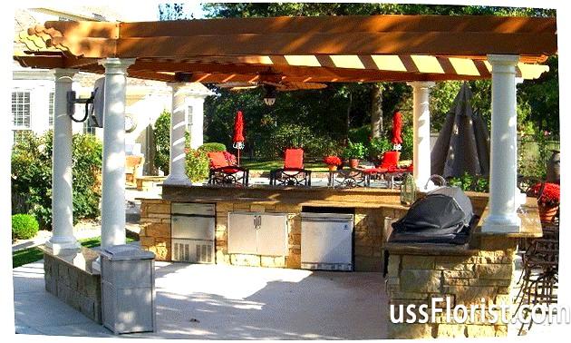 Фото - Літня кухня на дачі фото
