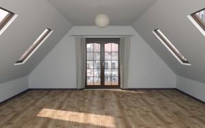 Планування і інтер'єр мансарди приватного будинку