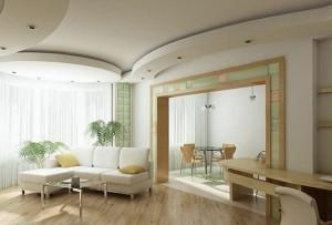 Різноманітність видів і варіантів дизайну стель із гипсокартона