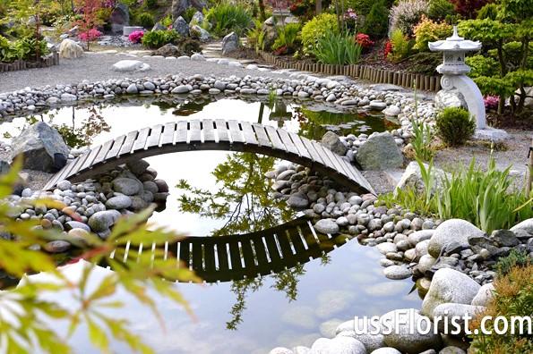 Садові містки - перлини в саду