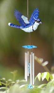 Фото - повітряні дзвіночки з птахом