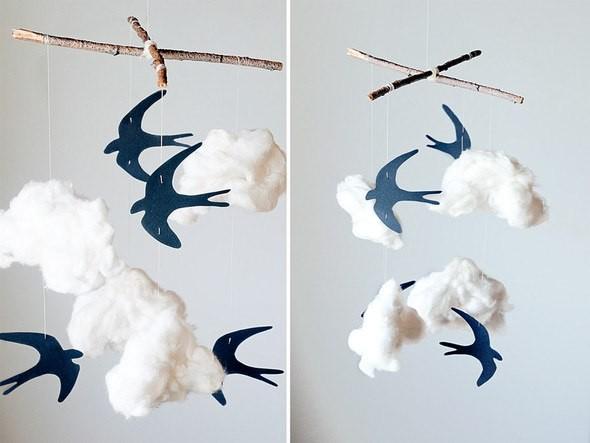Фото - приклад виготовлення музики вітру своїми руками
