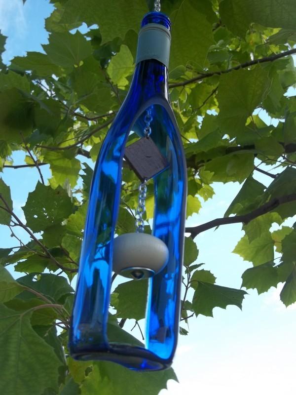 Фото - музика вітру зроблена своїми руками з пляшки