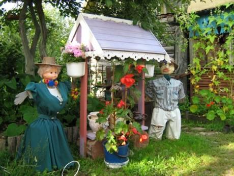Фото - садова скульптурна група