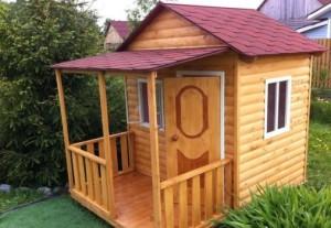 Будуємо дитячий ігровий будиночок для дачі своїми руками