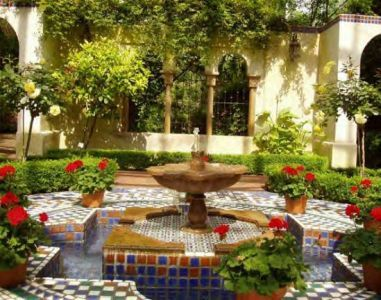Фото - декоративні фонтани для присадибних ділянок