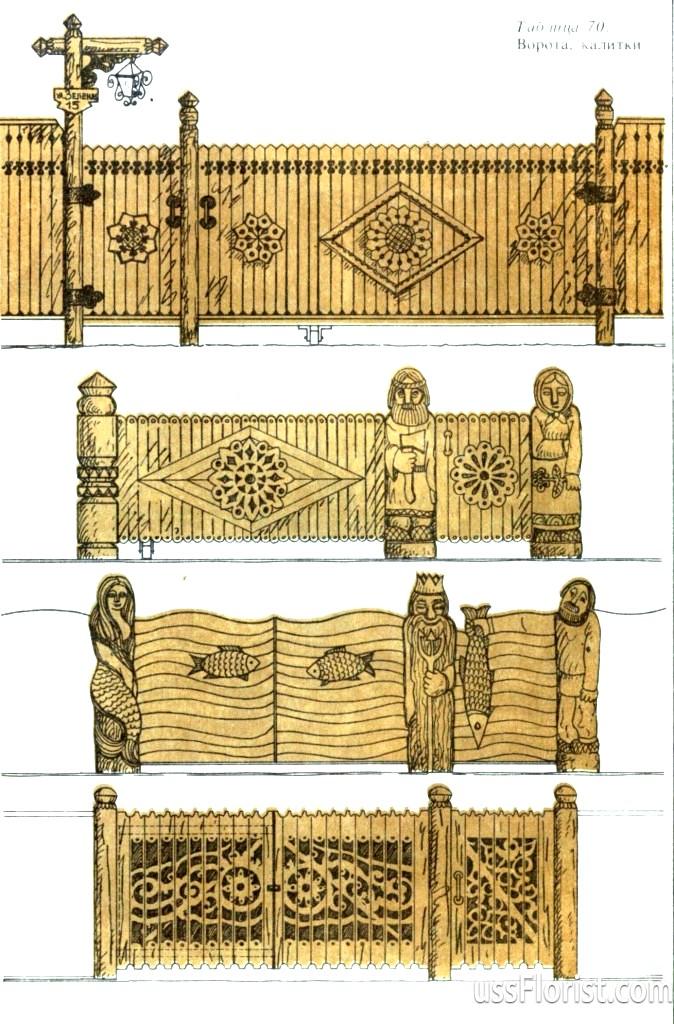 Всі про дерев'яні парканах
