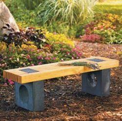 Фото - Лавки для дачі та саду в стилі хай тек