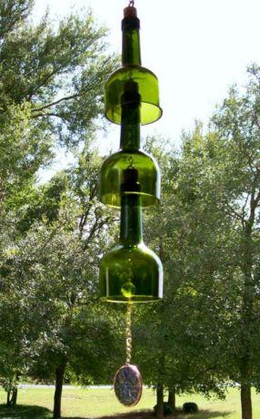 Фото - Креативні ідеї для саду - музика вітру в саморобній підвісці