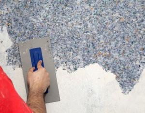 Рідкі шпалери: підготовка стін і технологія нанесення