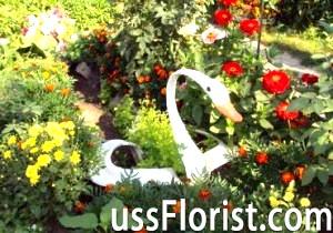 Робимо саморобки з покришок для прикраси саду