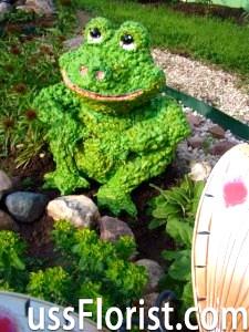 Фігурки для саду своїми руками