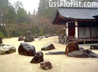 Японський сад каменів - розкриття азів східної стилістики
