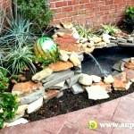 Як побудувати садовий фонтан своїми руками на дачі