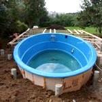 Композитні басейни для дачі