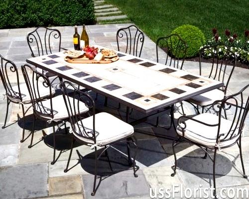 Ковані меблі для саду