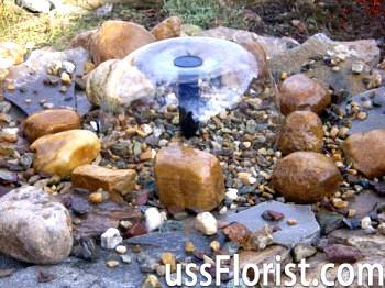Міні фонтани для саду