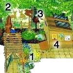 Планування дачної ділянки 6 соток