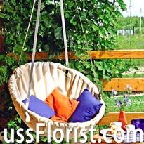 Підвісний гамак - садові меблі своїми руками