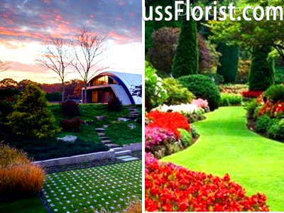 Сад у стилі модерн: розбираємо основні стилістичні особливості