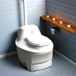 Торф'яної туалет для дачі - як вибрати? -