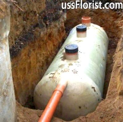 Ємність для каналізації – фото